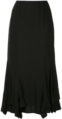 Yohji Yamamoto Draped Detail Skirt