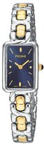 Pulsar Women's PEGA97 Dress Two-Tone Stainless Steel Watch