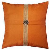Veratex Key Largo Jute-Ribbon Square Pillow