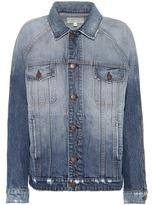 Current/Elliott The Raglan denim jacket