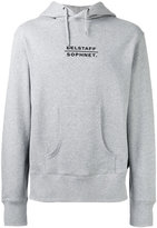 Belstaff logo back hoodie - men - Cotton/Polyester - S