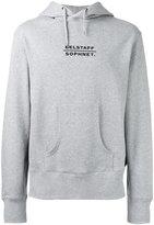 Belstaff logo print hoodie - men - Cotton/Polyester - S