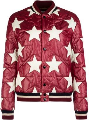 Saint Laurent Padded Star Bomber Jacket