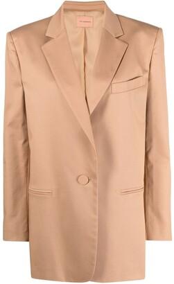 Andamane Oversized Single-Button Blazer
