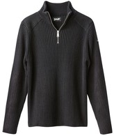 Schott Chunky Knit High Neck Jumper