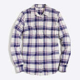 J.Crew Factory Plaid classic button-down shirt in perfect fit