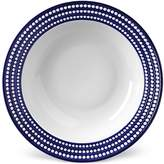 L'OBJET Perlée rimmed serving bowl - Blue