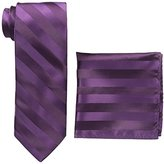 Stacy Adams Men's Extra Long Formal Stripe Tie Set