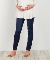PinkBlush Ivory Off-Shoulder Maternity Tunic