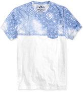 American Rag Men's Paisley Overprint Pocket T-Shirt, Only at Macy's