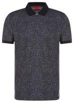 Hugo Boss Dinello Slim Fit, Cotton Jacquard Polo Shirt MBlue