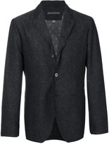 John Varvatos classic blazer - men - Cupro/Wool/Other fibres - 48