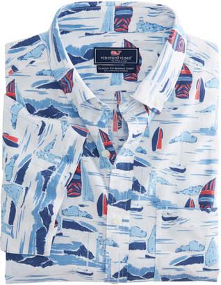 Vineyard Vines Classic Fit Short-Sleeve Vineyard Murray Shirt