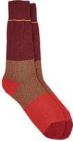 Paul Smith Men's Colorblocked Mid-Calf Socks