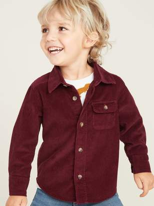 Old Navy Corduroy Long-Sleeve Shirt for Toddler Boys