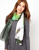 Vigano' Front Row Society Grainfields Scarf By Elisabetta Vigano