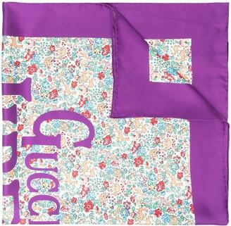 Gucci x Liberty floral print scarf