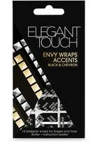 Elegant Touch Envy Wraps Self Adhesive Black and Chevron Accents by
