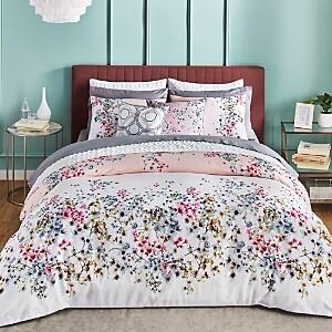 Ted Baker Jasmine Pink Comforter Set, Full/Queen