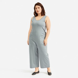 Everlane The Luxe Cotton Jumpsuit