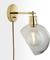 Rejuvenation Edendale Angled Articulating Plug-In Sconce