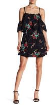 Romeo & Juliet Couture Floral Crisscross Dress