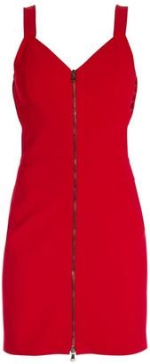 Moschino Zip Front Mini Dress