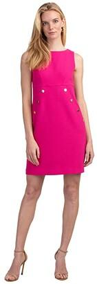 Trina Turk Heart Felt Dress (Faye Fuchsia) Women's Clothing