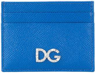 Dolce & Gabbana crystal logo card holder