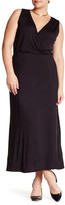Loveappella Sleeveless Maxi Dress (Plus Size)