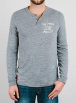 Junk Food Clothing Nfl New England Patriots Henley-steel-m