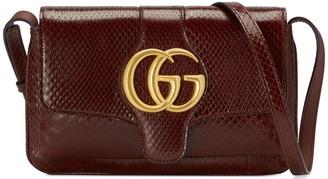 Gucci Running Genuine Python Small Shoulder Bag