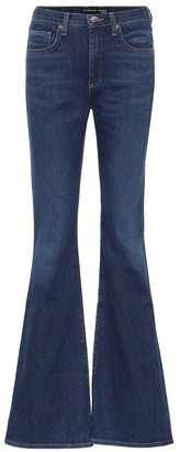 Veronica Beard Beverly high-rise flared jeans