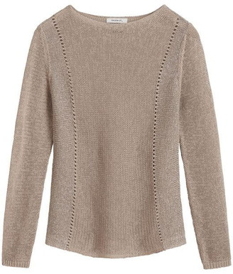 Sandwich Recycled Cotton Jumper