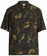 Vince Cabana Tropical-print Short-sleeved Shirt