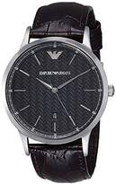 Emporio Armani Men's AR2480 Dress Brown Leather Watch
