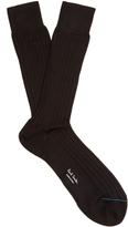 Paul Smith Cotton ribbed-knit socks
