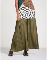Pleats Please Issey Miyake Wide High-rise Pleated Trousers