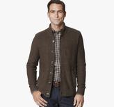 Johnston & Murphy Mix Stitch Full Button Sweater