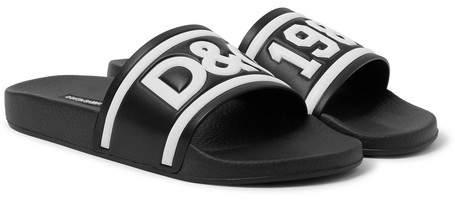 Dolce & Gabbana Rubber Slides