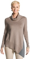 Chico's Giselle Colorblocked Sweater