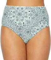 Mykonos Medallion High-Waist Bikini Bottom
