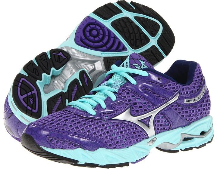 Mizuno Wave Precision 13 (Ultraviolet/Silver/Aruba Blue) - Footwear