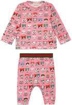 Gucci Baby pets print gift set