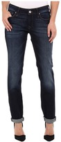 Mavi Jeans Emma Slim Boyfriend in Deep Brushed Vintage Women's Jeans