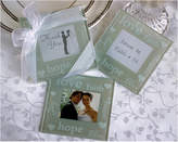 Kate Aspen Set Of 12 Good Wishes Pearlized Photo Coasters