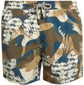 Etro Military-print swim shorts