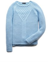Forever 21 Girls Favorite Cable Knit Sweater (Kids)