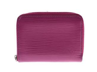 Louis Vuitton Virtuose Burgundy Leather Wallets