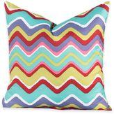 Crayola Mixed Palette Chevron 20-Inch Square Throw Pillow